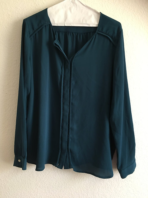 Ann Taylor Loft Shirt - Size LargeP