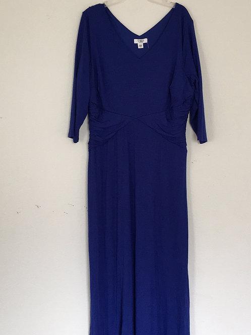 Cato Women Blue Dress - Size 14/16