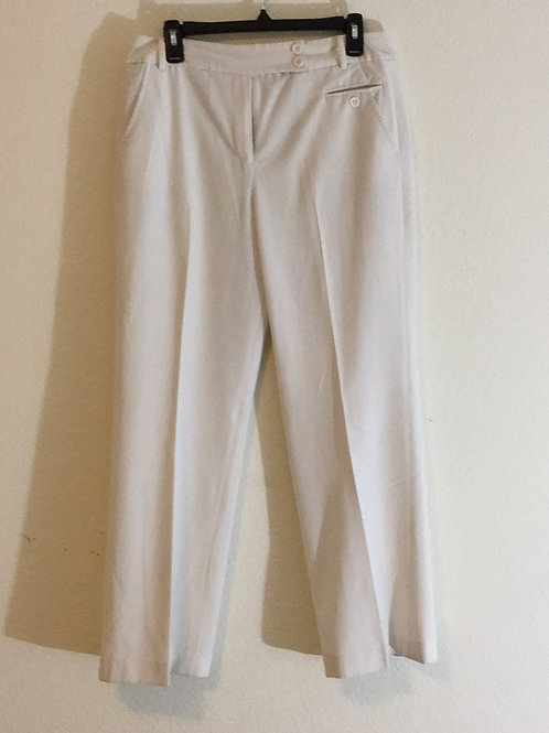 Dressbarn White Pants - Size 10