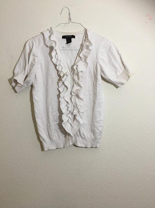 Ashley Stewart White Sweater - Size 12