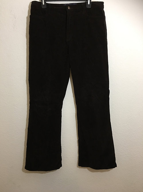 Not Your Daughter's Jeans Brown Corduroy Size 16P
