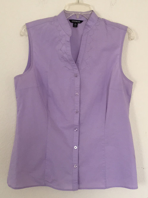 George Purple Shirt - Size Large