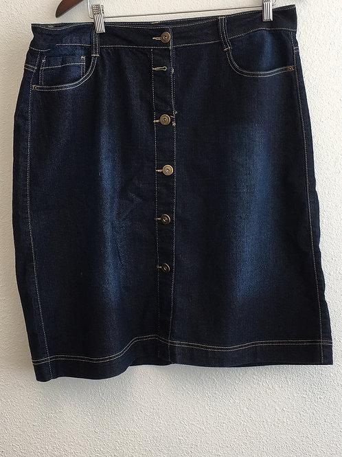 Baccini Jean Skirt - Size 16