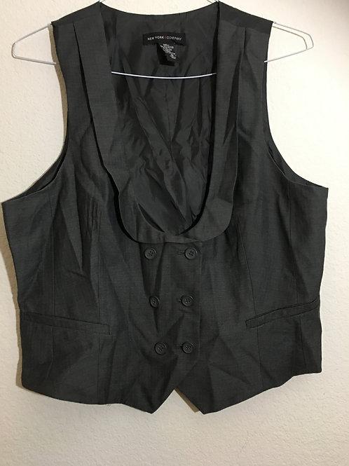 New York & Company Grey Vest - Size 18