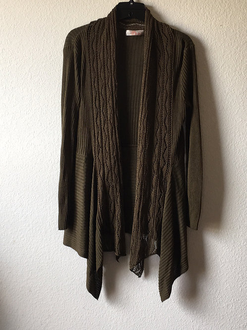 123 Green Sweater - Size Medium/Large