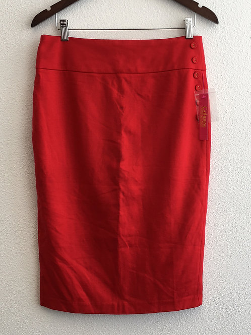 Catherine Red Skirt - Size 10