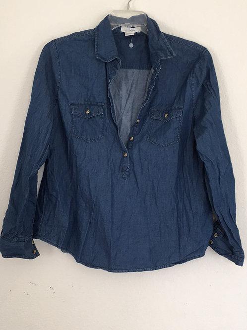 Love Potion Blue Jean Shirt - Size L
