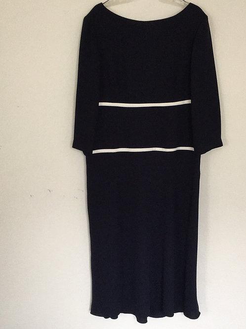 Maggie's London Blue Dress - Size 16