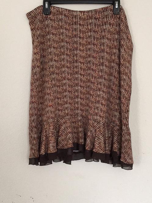 Merona Brown Skirt - Size XL