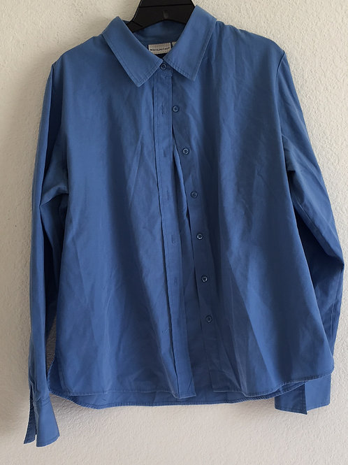 White Stag Blue Shirt - Size Large