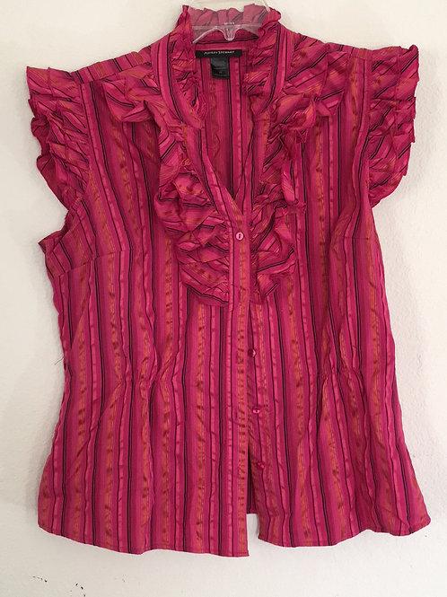 Ashley Stewart Pink Sleeveless Shirt - Size 16