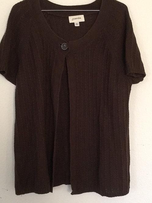 St. John's Bay Brown Sweater - Size XL