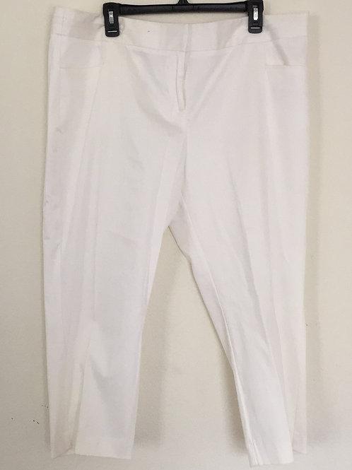 Worthington White Capri - Size 18