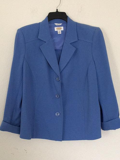 Talbots Blue Blazer - Size 14W