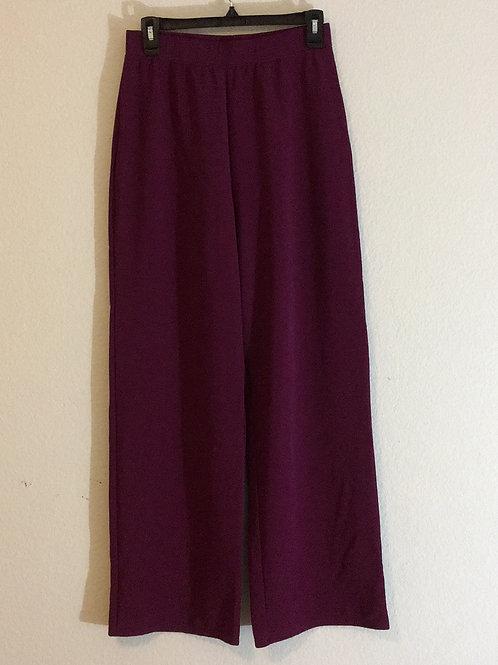 Susan Graver Maroon Pants - Size Medium