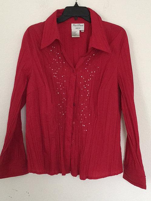 Fred David Red Shirt - Size 3X