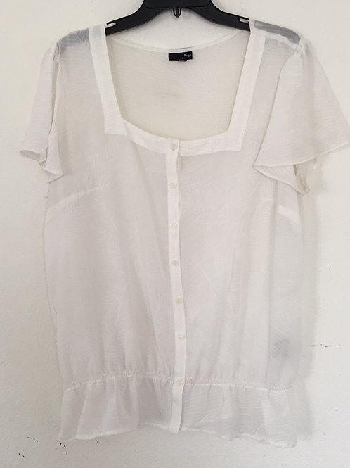 East5th White Shirt - Size XL