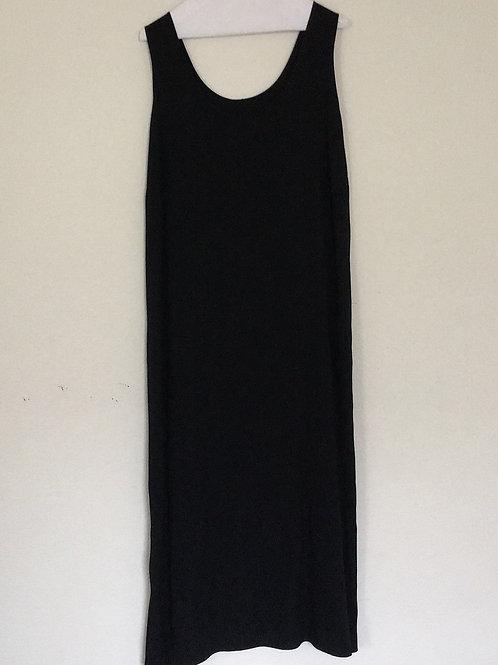 Long Black Tank Dress - Size XL