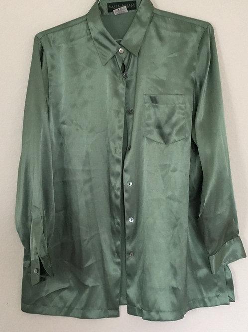 Harve' Bernard Green Shirt - Size 14