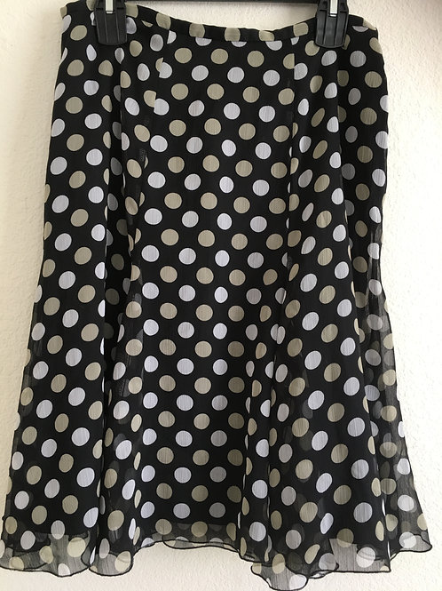 Worthington Polka Dot Skirt - Size 12