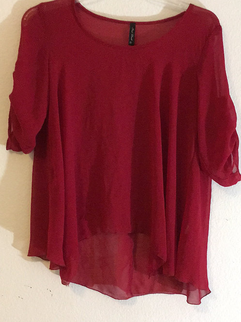 Final Touch Red Shirt - Size Large