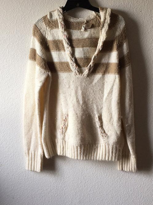 Ruff Hewn Hooded Sweater- Size Large