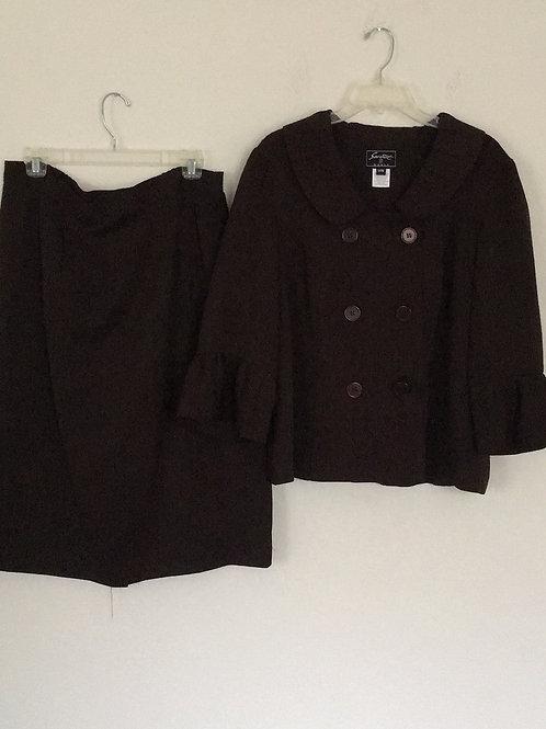 Sweet Suit Brown Suit - Size 14