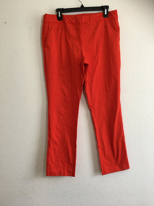 Worthington Orange Pants Size 14