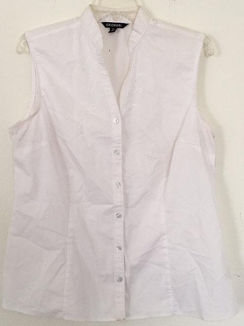 George White Shirt - Size Large
