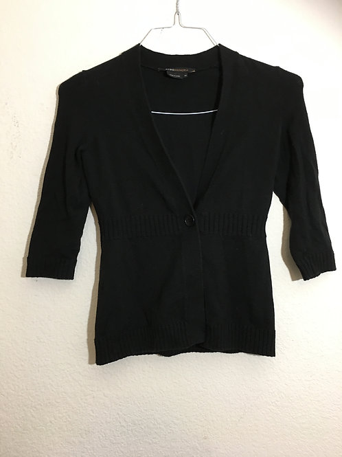BCBG Black Cardigan Sweater - Size XS