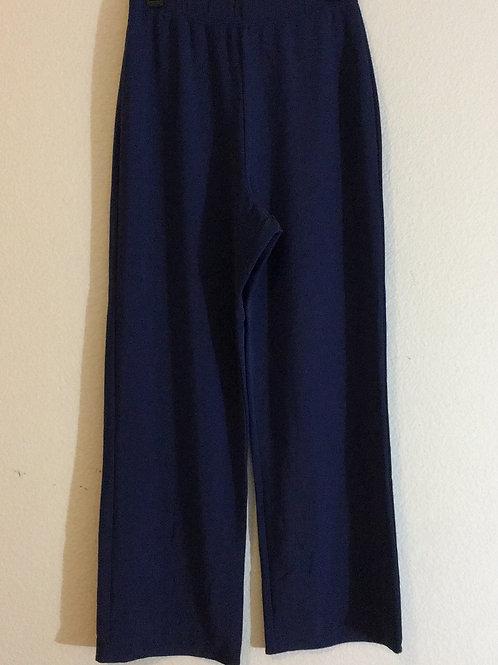 Susan Graver Blue Pants - Size Medium