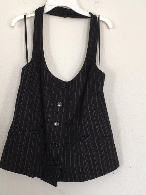 Ashley Stewart Black Vest - Size 14/16