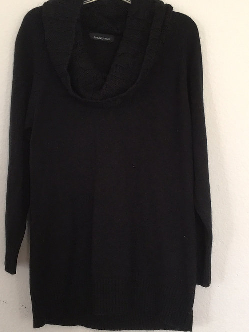 Ashley Stewart Black Sweater - Size 14/16