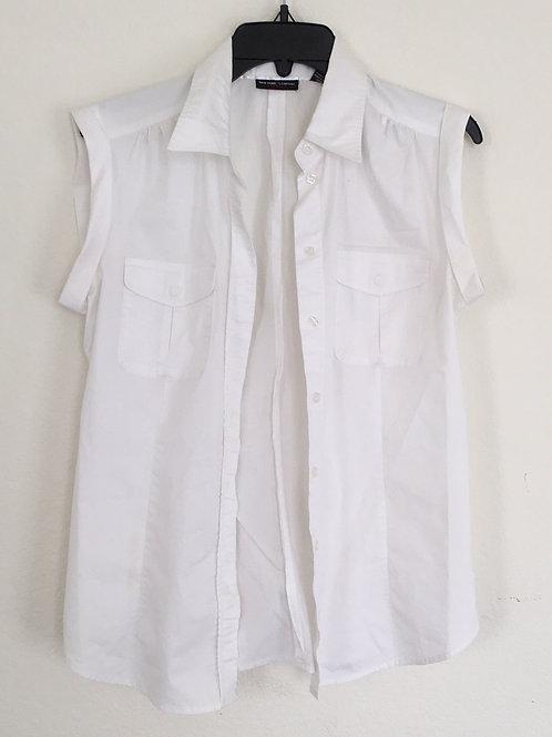 New York & Company White Shirt - Size Medium