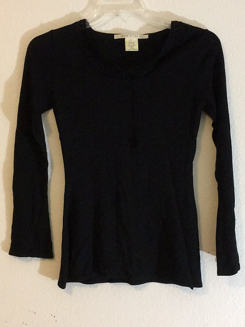 Max Studio Black Shirt - Size Small