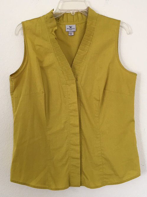 Worthington Yellow Shirt - Size Large