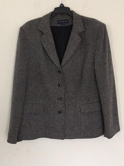 Preston & York Grey Blazer - Size 18