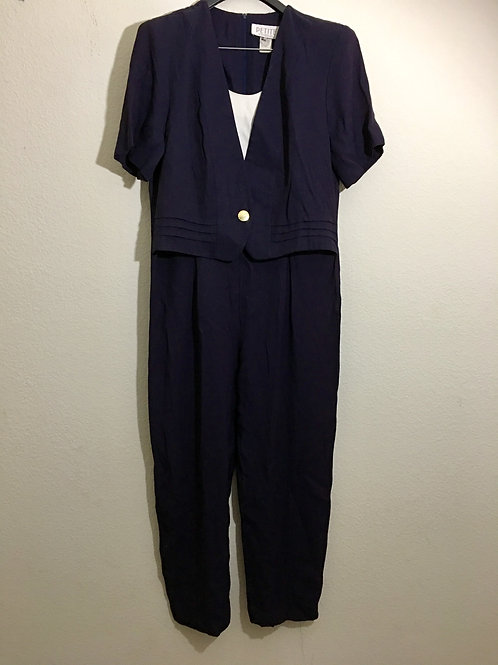 Petite Sophisticated Jump Suit - Size 14
