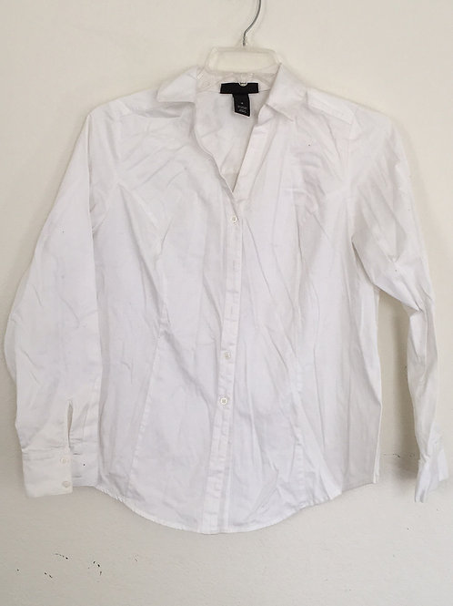 Lane Bryant White Shirt- Size 16