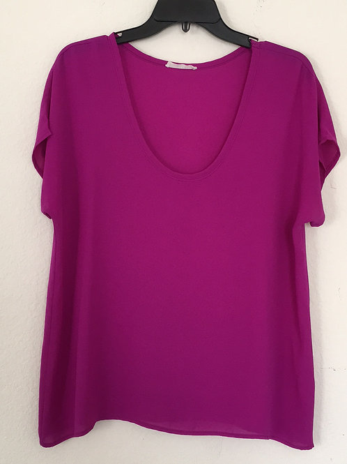 Lush Purple Shirt - Size Large