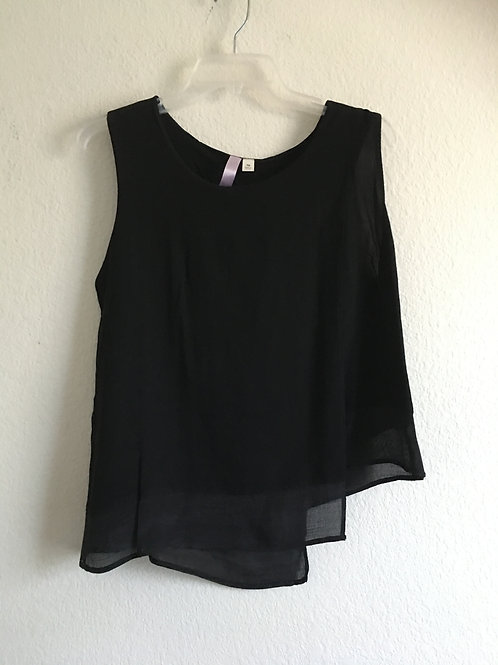 Black Tank - Size Medium