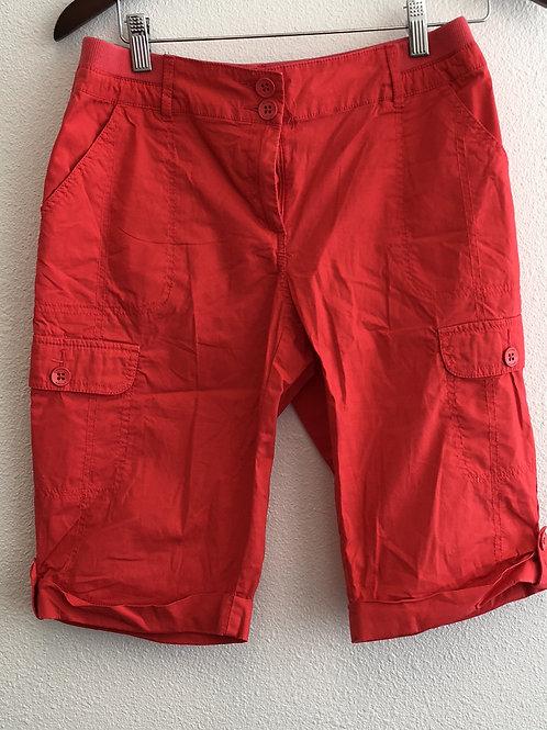 Chico Orange Shorts - Size 0