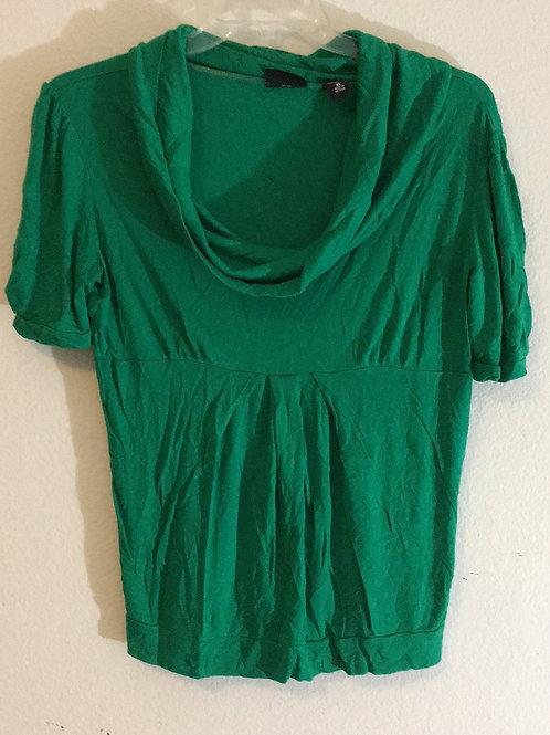 New York & Company Green Shirt - Size XL