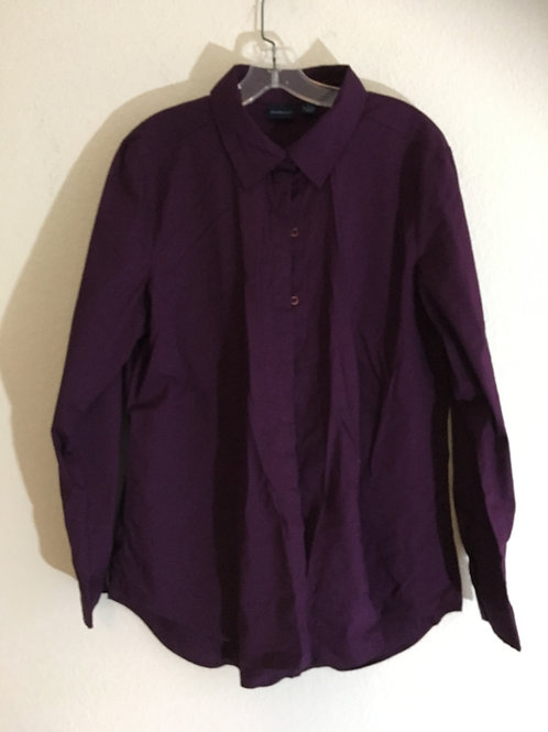 Westbound Purple Shirt - Size Large