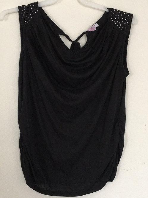 Lena Petites Black Shirt - Size XL