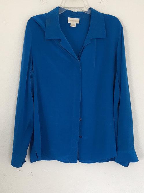 Christie & Jill Blue Shirt - Size 16