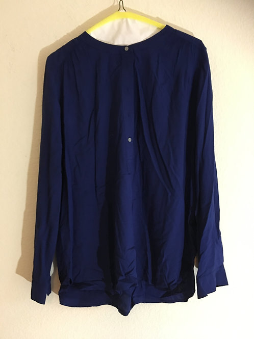 Ann Taylor Loft Blue Shirt - Size Medium