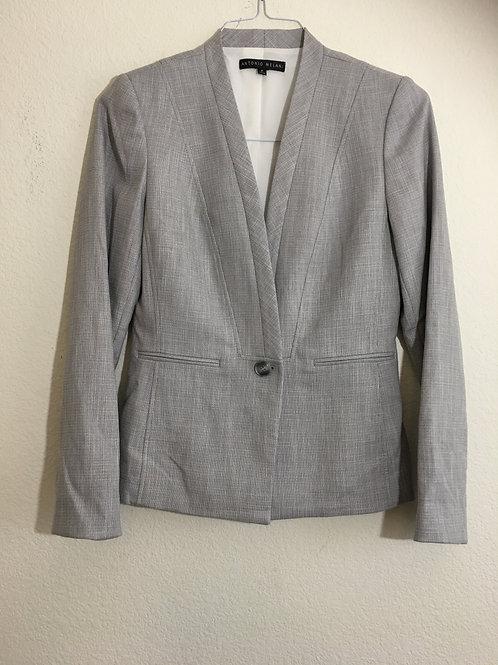 Antonio Melani Grey Blazer - Size 2