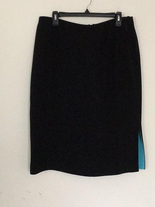 Kasper Black Skirt - Size 18