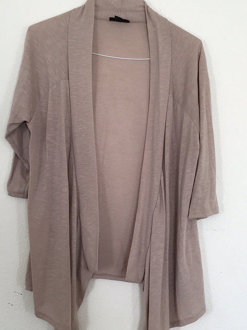 Tan Sweater - Size XL